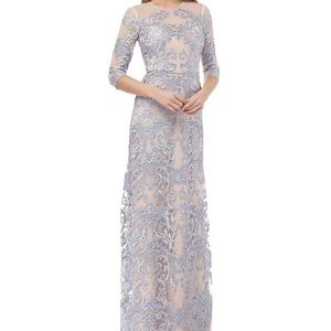 Beautiful Baroque Inspired Gown by JS Collections